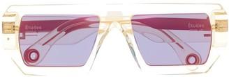 Études Sauvage transparent sunglasses