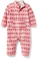 Old Navy Go-Warm Micro Performance Fleece One-Piece for Baby