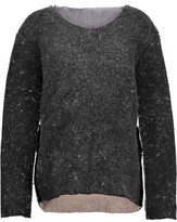 Acne Studios Ebril Trans Mesh-Paneled Wool-Blend Sweater