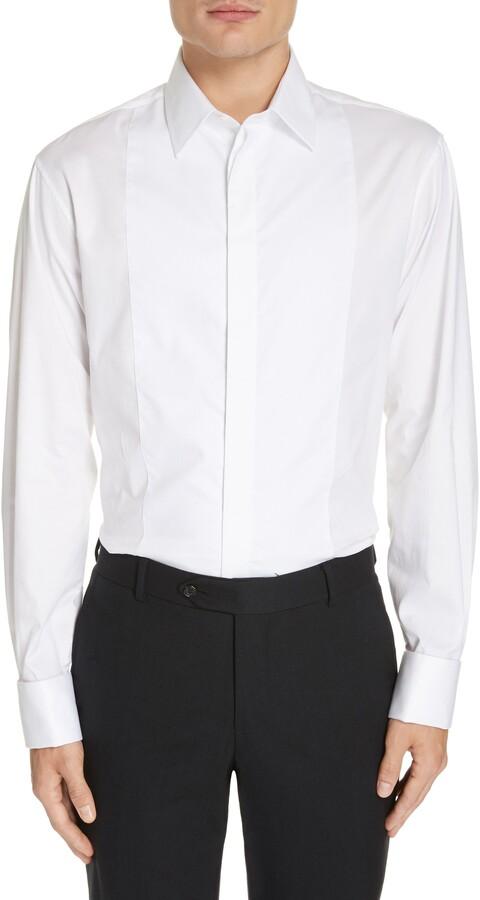 f56f1bee20 Slim Fit Stretch Tuxedo Shirt