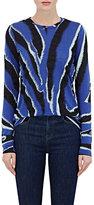 Proenza Schouler Women's Zebra-Print Tissue-Weight Cotton T-Shirt