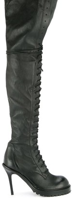 Ann Demeulemeester Over-The-Knee Boots