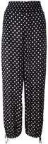 Tory Burch 'Kingfish' print trousers - women - Viscose - L
