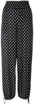 Tory Burch 'Kingfish' print trousers - women - Viscose - S