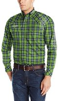 Wrangler Men's Long Sleeve Western Logo Shirt