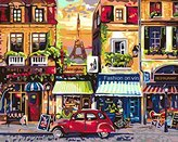 [WOODEN FRAMED] ALB 16 x 20 Paint by Numbers Diy Painting Famous Painting Collection 3 by ALB