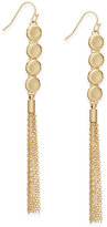 INC International Concepts Gold-Tone Long Tassel Drop Earrings, Created for Macy's