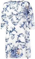 Antonio Marras jewel neck dress - women - Polyester/Spandex/Elastane/Cupro/Viscose - 44