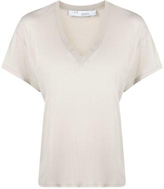 IRO V-Neck Short-Sleeved T-Shirt