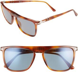 Persol 56mm Square Sunglasses