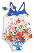 Dolce & Gabbana Floral Bathing Suit