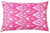 Found Object Ikat Silk Pillow
