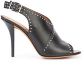 Givenchy studded peep toe sandals - women - Leather - 36