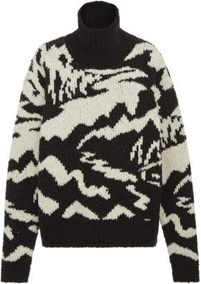 Missoni Long Sleeve Mock Sweater Neck