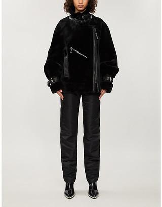 Nicole Benisti Greenwich boxy shearling jacket