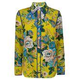 Diane von Furstenberg Floral Silk Shirt