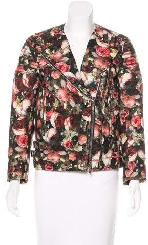 Givenchy Floral Moto Jacket