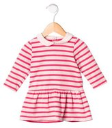Petit Bateau Girls' Striped Long Sleeve Dress