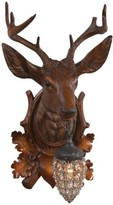 The Well Appointed House Aspen Stag Wall Sconce