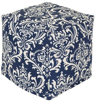Majestic Home Goods French Quarter Indoor/Outdoor Ottoman Pouf Cube