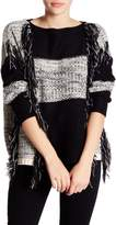 Romeo & Juliet Couture Fringe Sweater