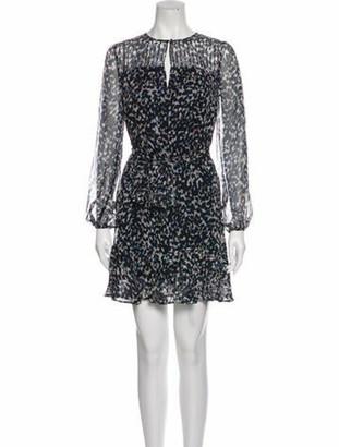 Intermix Paige Mini Dress w/ Tags Blue