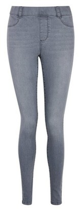 Dorothy Perkins Womens Grey 'Eden' Ankle Grazer Jeggings With Organic Cotton, Grey