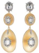 Alexis Bittar Double Lucite Drop Earrings