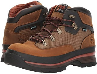 Timberland Euro Hiker Soft Toe Waterproof (Taupe) Men's Work Lace-up Boots