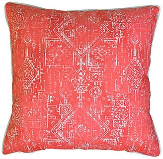 Kim Salmela Akumal Outdoor Pillow - Coral