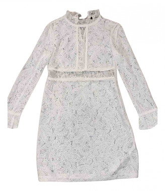 Maje White Lace Dresses