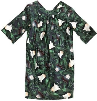 Hermes Green Linen Dresses