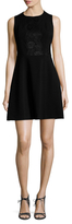 Rachel Roy Double Weave Fit and Flare Dress
