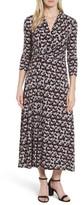 Chaus Women's Dot Print Midi Dress