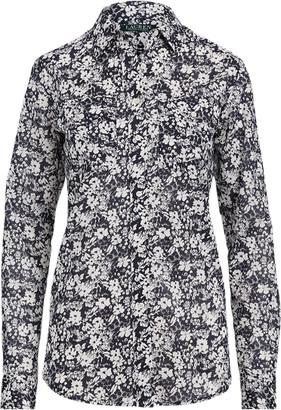 Ralph Lauren Floral Cotton Voile Shirt