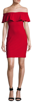 Susana Monaco Karly Off Shoulder Sheath Dress