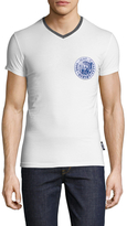 Just Cavalli Fashion V-Neck Tee