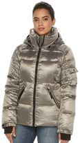 Women's S13 Kylie Hooded Metallic Down Puffer Jacket