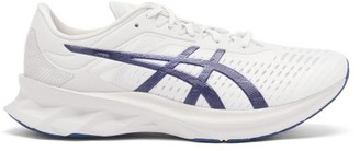 Asics Novablast Faux-suede And Mesh Trainers - White