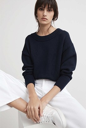 Witchery Wide Scoop Neck Knit