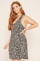 Forever 21 FOREVER 21+ Plus Size Paisley Print Dress