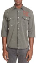 Levi's Vintage Clothing Distressed Cotton Twill Shirt