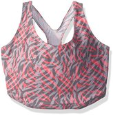 Leading Lady Women's Plus Size Cotton Racerback Sports Bra