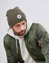 Converse Beanie In Olive Con588 Medium Olive