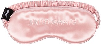 Slip Silk Bridesmaid embroidered sleep mask