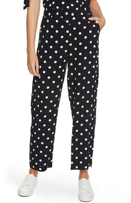 1 STATE Polka Dot Wide Leg Pants