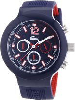 Lacoste Borneo 2010703 44mm Rubber Anti-Reflective Sapphire Men's Watch