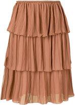 See by Chloe tired ruffle skirt
