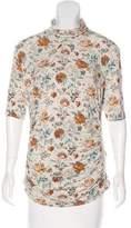 Etro Printed Short Sleeve Top