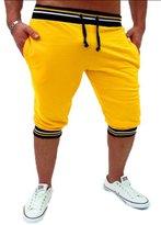 Mada Mens Casual Solid Sports Pants Closed-Bottom Sweat Pant